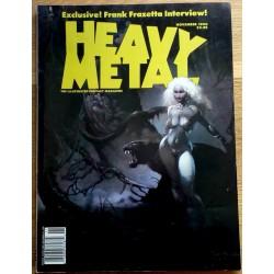 Heavy Metal: 1990 - November - Frank Frazetta Interview!