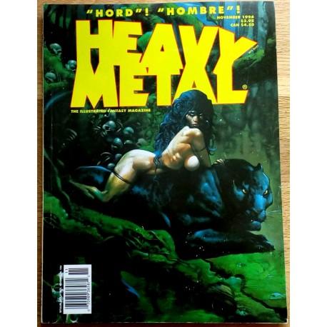 Heavy Metal: 1994 - November - Hord! Hombre!