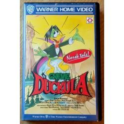 Greve Duckula - Norsk tale! (VHS)