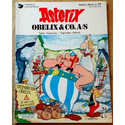 Asterix: Nr. 23 - Obelix & Co. A/S - 1. opplag