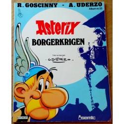 Asterix: Nr. 25 - Borgerkrigen - 1. opplag
