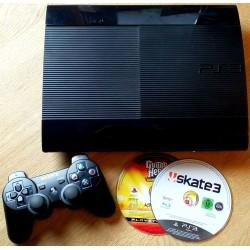 Playstation 3 Slim: Komplett med spill