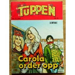 Tuppen: 1985 - Nr. 22 - Carola ordner opp
