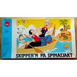 Skipper'n på spinatjakt - Brettspill
