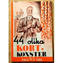 44 olika kortkonster