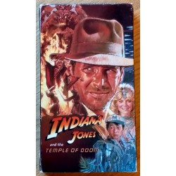 Indiana Jones and The Temple of Doom (VHS)
