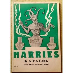 Harries Katalog för Scen och Salong - Nr. 14