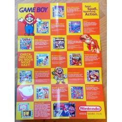 Reklame for GameBoy og Super Nintendo