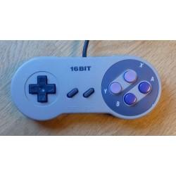 Super Nintendo: 16Bit håndkontroll