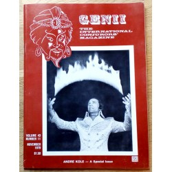 Genii: The International Conjurors' Magazine: 1979 - November