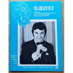 Genii: The International Conjurors' Magazine: 1980 - January