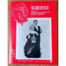Genii: The International Conjurors' Magazine: 1980 - February
