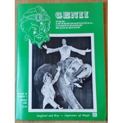Genii: The International Conjurors' Magazine: 1980 - March