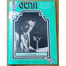 Genii: The International Conjurors' Magazine: 1981 - February