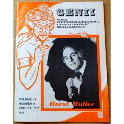 Genii: The International Conjurors' Magazine: 1977 - August