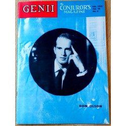 Genii: The Conjuror's Magazine: 1952 - Nr. 6 - Don Olson