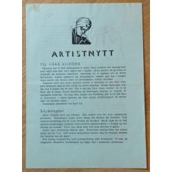 Kortstudio i Askim: Artistnytt