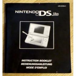 Nintendo DS Lite - Instruction Booklet