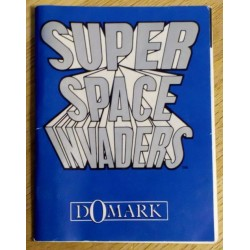 Super Space Invaders - Manual (Domark)