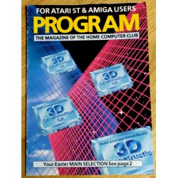 Program - The Magazine of The Home Computer Club - For Atari ST & Amiga Users