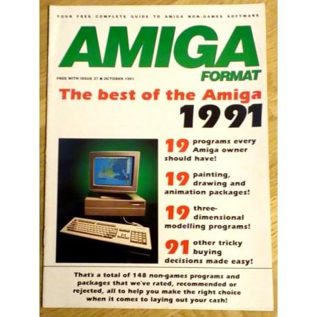 The Best of the Amiga in 1991 - Amiga Format