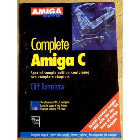 Complete Amiga C - Special sample edition containing two complete chapters (Cliff Ramshaw)