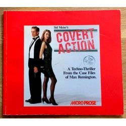 Sid Meier's Covert Action - A Techno-Thriller From the Case Files of Max Remington (MIcroProse)