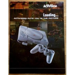 Loading... Activision puts you in the picture - Playstation 1