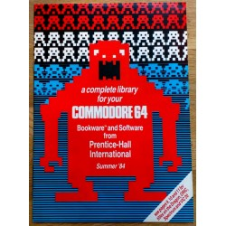 A complete library for your Commodore 64 - Bookware and Software from Prentice-Hall International Summer '84
