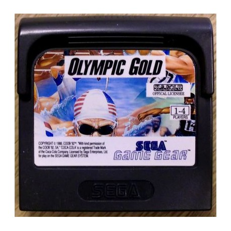 Game Gear: Olympic Gold