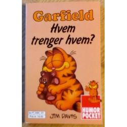 Humor Pocket: Nr. 3 - Garfield - Hvem trenger hvem?