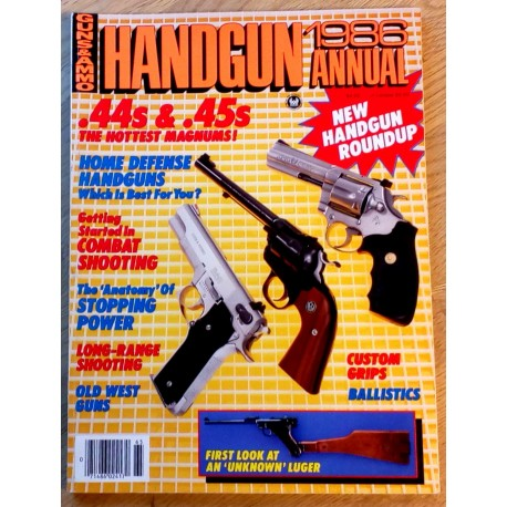 Guns & Ammo: 1986 Annual - New Handgun Roundup