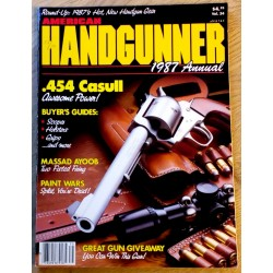 American Handgunner: 1987 Annual - .454 Casull