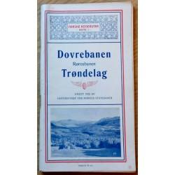 Norske Reiseruter 1926: Hefte 1 - Dovrebanen - Rørosbanen - Trøndelag