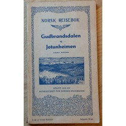 Norsk Reisebok 1936: Gudbrandsdalen og Jotunheimen