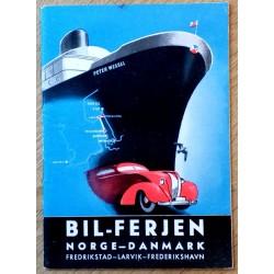 Bil-ferjen Norge-Danmark - Med Peter Wessel til Danmark