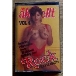 FIB-aktuellt: Vol. 4 - Rock Explosion (kassett)