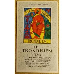 Til Trondhjem 1930 - St. Olavs nihundreårs fest