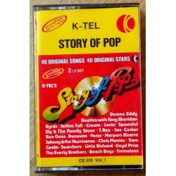 K-Tel: Story of Pop - Vol. 1 (kassett)