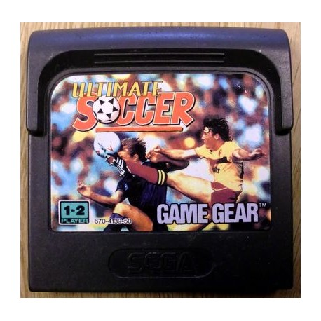 Game Gear: Ultimate Soccer