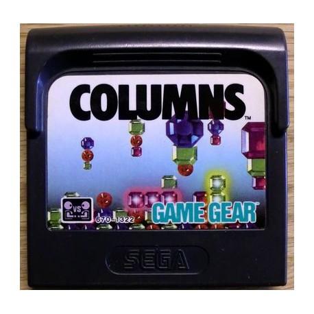 Game Gear: Columns