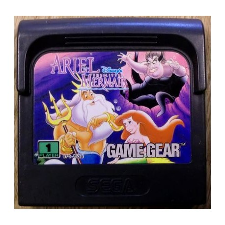 Game Gear: Ariel: The Little Mermaid