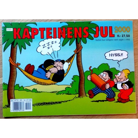 Kapteinens jul 2000 - Julehefte