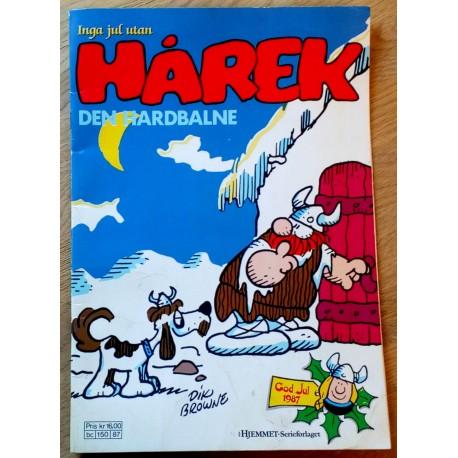 Hårek: Jula 1987 - Julehefte