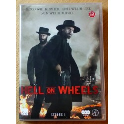 Hell On Wheels: Sesong 1 (DVD)