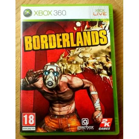 Xbox 360: Borderlands (2k Games)