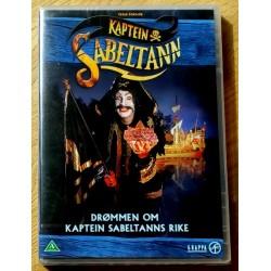 Drømmen om Kaptein Sabeltanns rike (DVD)