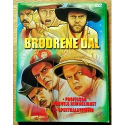 Brødrene Dal: Professor Drøvels hemmelighet og Spektralsteinene (DVD)