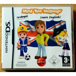 Nintendo DS: Mind Your Language - Learn English!