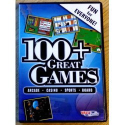 100+ Great Games - Arcade - Casino - Sports - Board (ValuMedia)